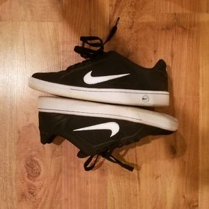 Classic Black & White Nike Shoes